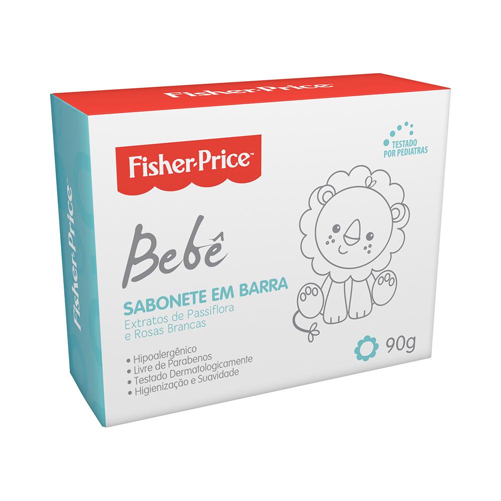 SABONETE BARRA FISHER PRICE 90G
