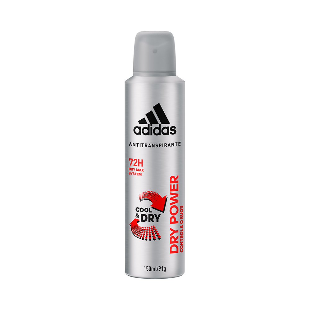 DESODORANTE MASCULINO ADIDAS DRY POWER 150ML