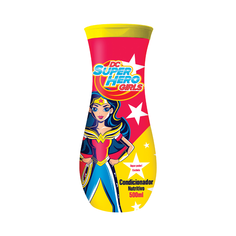 CONDICIONADOR DC SUPER HERO GIRLS - WONDER WOMAN 500ML