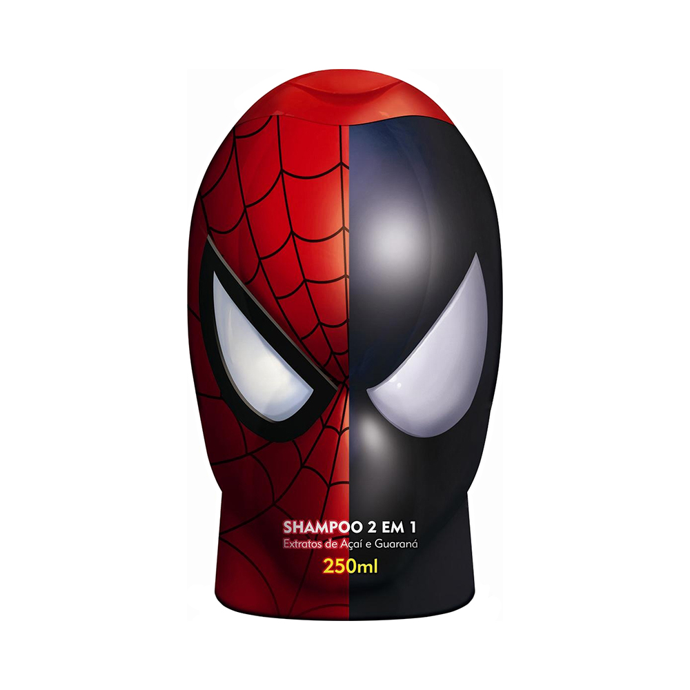 SHAMPOO SPIDER MAN - 2 EM 1 250ML