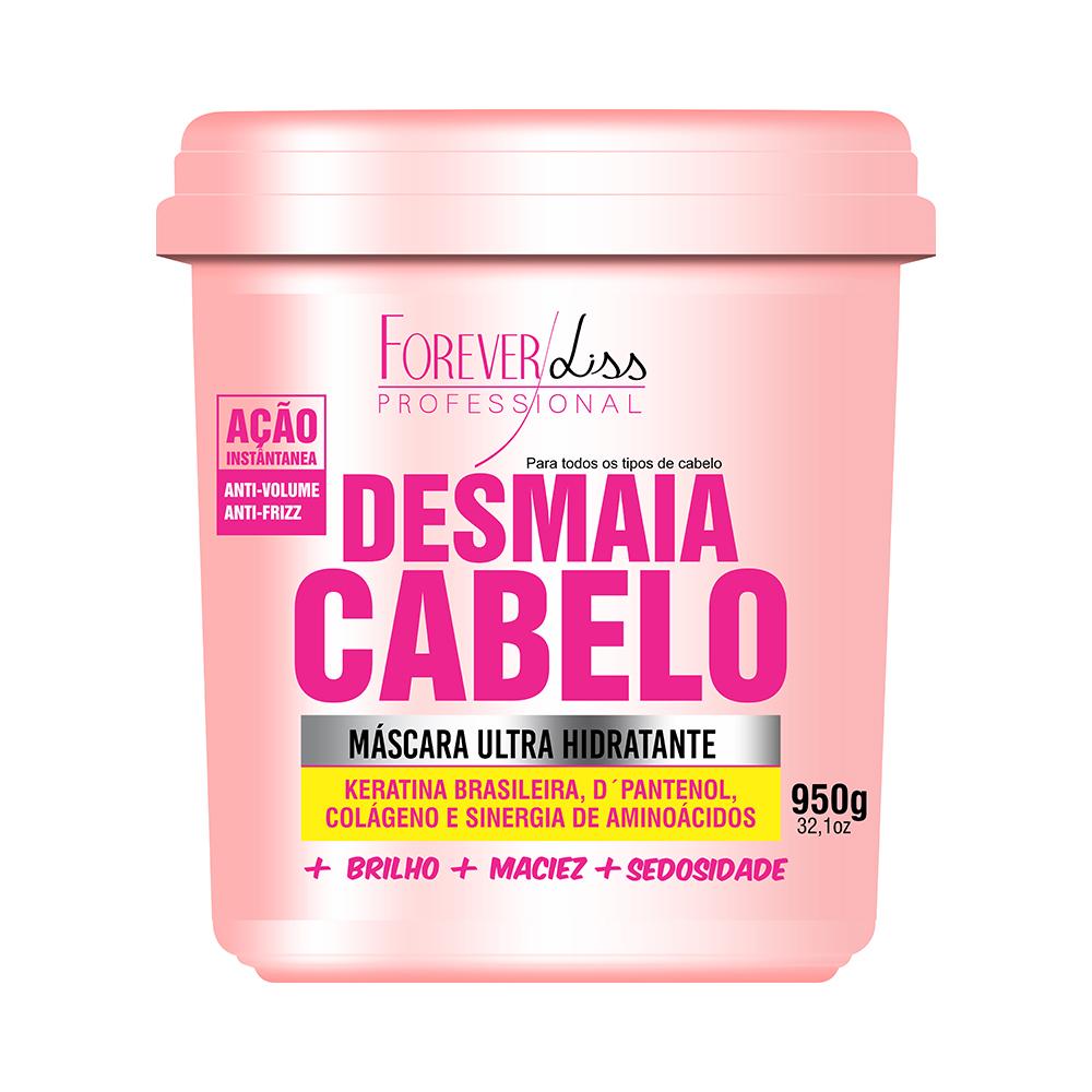 MÁSCARA DE HIDRATAÇÃO DESMAIA CABELO FOREVER LISS - 950G